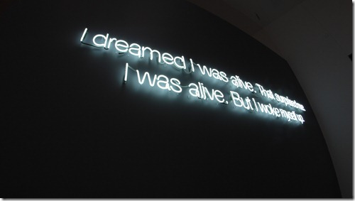 I dreamed I was alive. Surrealism Expo, GOMA. By Nic Freeman