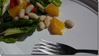 The 'whatever's left' Sunday picnic salad