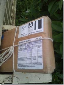 Ruth's surprise parcel