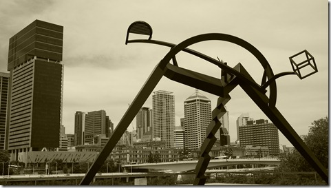 Cultural Centre precinct Brisbane