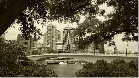 From Cultural Centre precinct Brisbane