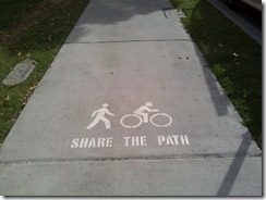 Share the path Brisbane