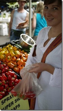 West end markets_capsicum time