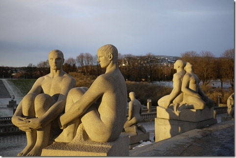 Vigeland Park, Frognerparken, Oslo, Norway. Photo by Nic Freeman