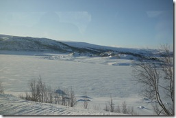 Norwegian rail - train to Bergen Norway