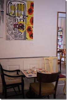 Cafe in Södermalm Stockholm Sweden