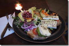 Gluten free food from cafe in Södermalm Stockholm Sweden