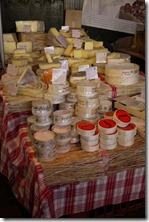Cheese at Borough Markets