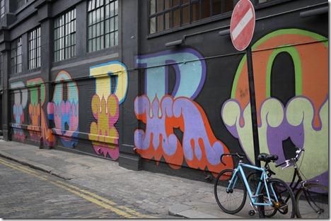 Street art graffiti Shoreditch London
