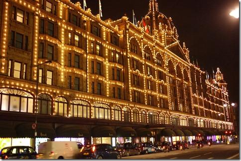 Harrods Kensington London