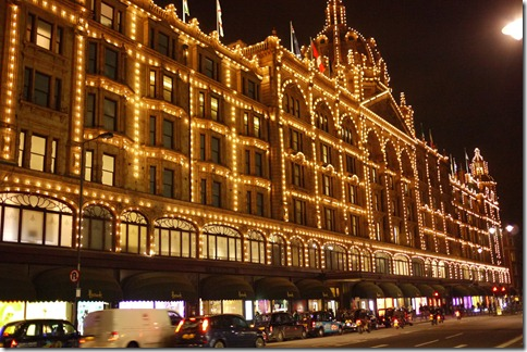 Harrods Kensington London