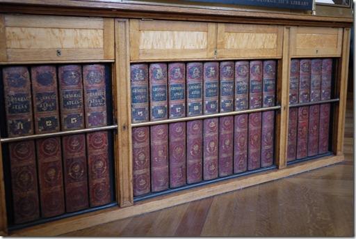 Reading room at British Museum London