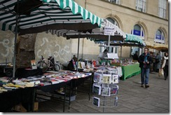 Bristol Book Market at St Nick's Market Bristol UK
