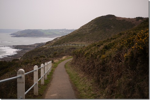 Headland walk from Mumbles, Wales