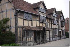 Birthplace of Shakespeare Stratford-upon-Avon, UK