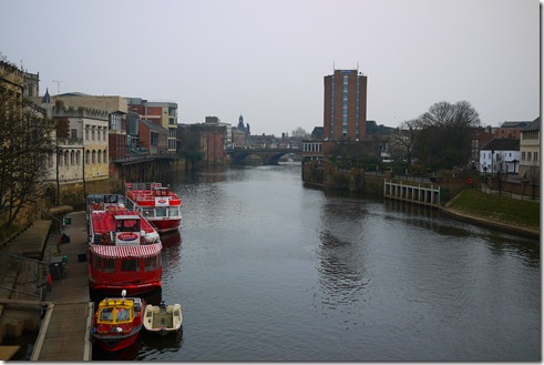 The Ouse in York, England, UK