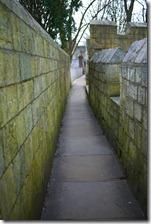 The York Wall - York, England, UK
