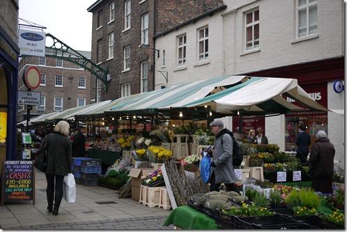 York Market. York, England, UK
