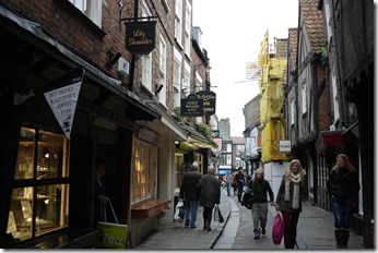 The Shambles. York, England, UK