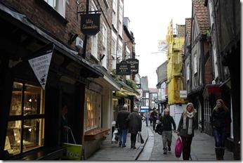 The Shambles. York, England, UK