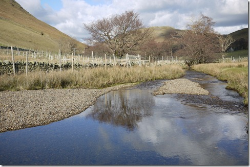 A creek on the walk near Hallin Fell, Howtown, Lake District, England