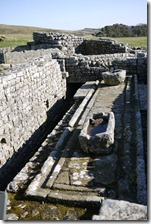 Housesteads Fort, Roman ruins, Hadrian's Wall, England, UK