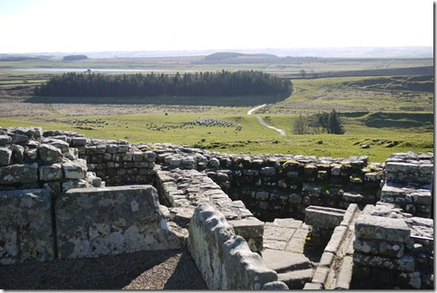 Housesteads Fort,  Hadrian's Wall, England, UK