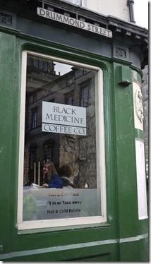 Black Medicine Coffee Co. Drummond Street Edinburgh Scotland