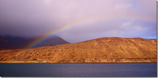 Rainbow morning -  Isle of Skye, Scotland