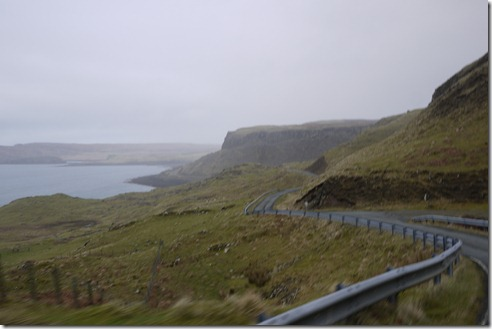 Driving the Isle of Skye Scotland