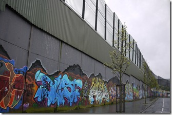 Peace Walls graffiti West Belfast, Northern Ireland, UK