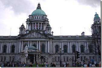 City Hall - St Patrick's Day -  Belfast, Northern Ireland, UK