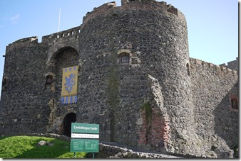 Carrickfergus Castle, Causeway Coast, Northern Ireland UK