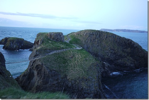 Carrick-A-Rede rope bridge, Causeway Coast, Northern Ireland UK