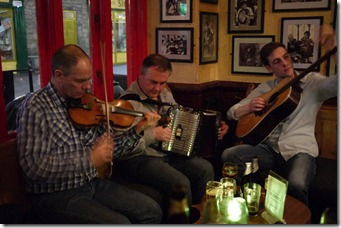 Traditional Irish music - Galway, Ireland