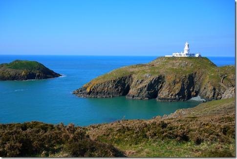 Strumble Head lighthouse Pembrokeshire Coast National Park Wales