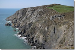 Strumble Head walk Pembrokeshire Coast National Park Wales