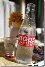 Local drink - like clear creaming soda - Heybeliada  - The Princes' Islands Istanbul Turkey