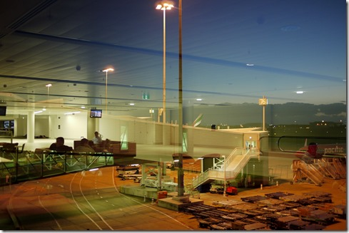 Brisbane airport, 1 January 2012 dawn