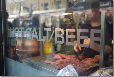 Hot Salt Beef, Brick Lane, London, England, UK