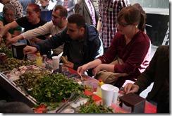 Grand Bazaar lunch, Sultanahmet, Istanbul, Turkey