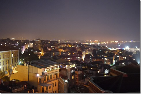 View from 360 Istanbul restaurant, Turkey