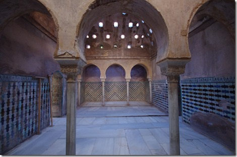 Hamam - Alhambra, Granada, Spain. Image by Fraser Wright