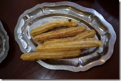 Churros, Spain food