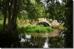Bridge at Ribadiso -  Walking Camino de Santiago from Sarria, Spain