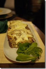 Tostata raciones - tuna on toast - Spain food