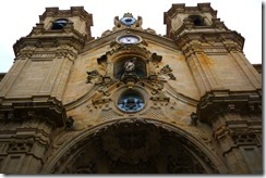 Church in San Sebastian, Spain