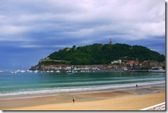 Playa (Beach) in San Sebastian, Spain