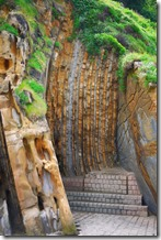 Beach caves, San Sebastian, Spain