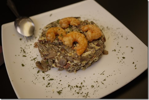 Mushroom omelette - Spain Andalusia